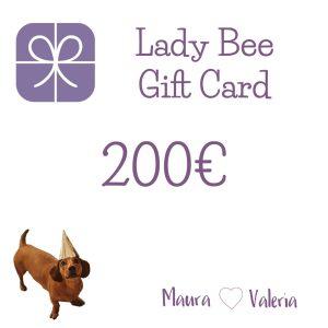 La gift card di LadyBee
